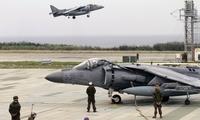 美军一架垂直起降战斗机突发坠机 掉进树林里
