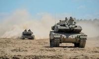 豹2A5 M109 波兰美国军演组成强悍装甲阵容