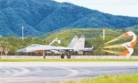 东部战区空军航空兵某旅组织跨昼夜飞行