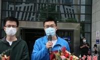 """安徽两名病理专家在武汉""""红区""""的42个日夜"""