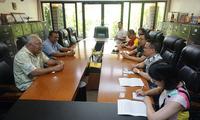 黄峥大使会见密联邦外交部长、卫生部长、波纳佩州长