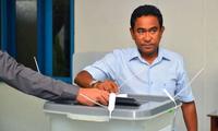 马尔代夫总统亚明承认败选:人民选了萨利赫,我祝贺他