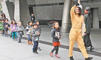 东京为外国人举行防灾演习