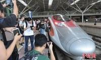 上海虹桥至香港西九龙高铁开行 沪港高铁澳门银河送彩金代来临