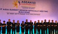 东亚合作系列高官会举行 中方:加强六大领域合作