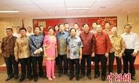 印尼闽南乡亲春节团拜联欢叙乡谊(图)