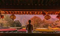 我能想到最浪漫的事,就是七夕节陪你去篁岭看晚霞