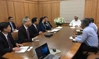 福建省委常委胡昌升会见印度奥里萨邦首席部长