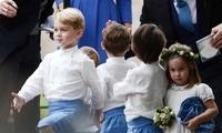 乔治和夏洛特第三次担任花童