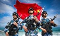 今天 南沙卫士这样为人民海军庆生