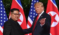 特朗普:近期可能与金正恩举行第二次会晤 很快宣布相关消息