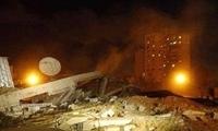 以军打击加沙地带致多名巴勒斯坦人伤亡