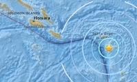 所罗门附近海域发生5.9级地震 震源深度59.8公里