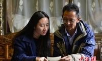 """藏族劳模将绿色环保建材""""送上""""雪域高原"""