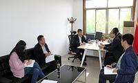 郁章玉参加组织部党支部学习讨论党的十九大报告精神专题会议