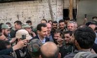 大规模训练反对派,趁叙军被拖在东古塔,俄称美军准备随时动手