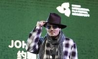 约翰尼·德普亮相首届海南岛国际电影节大师班