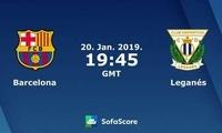 巴塞罗那 vs 莱加内斯首发:库蒂尼奥登场,梅西替补