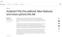 将不再卡顿?Android 9.0 GO精简版再瘦500MB